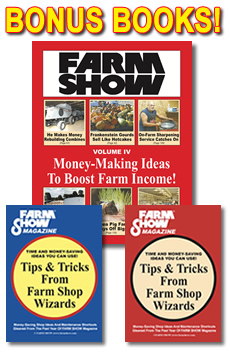FARM SHOW Magazine Subscription Includes: 1 FREE Book + 2 BONUS eBook PDFs