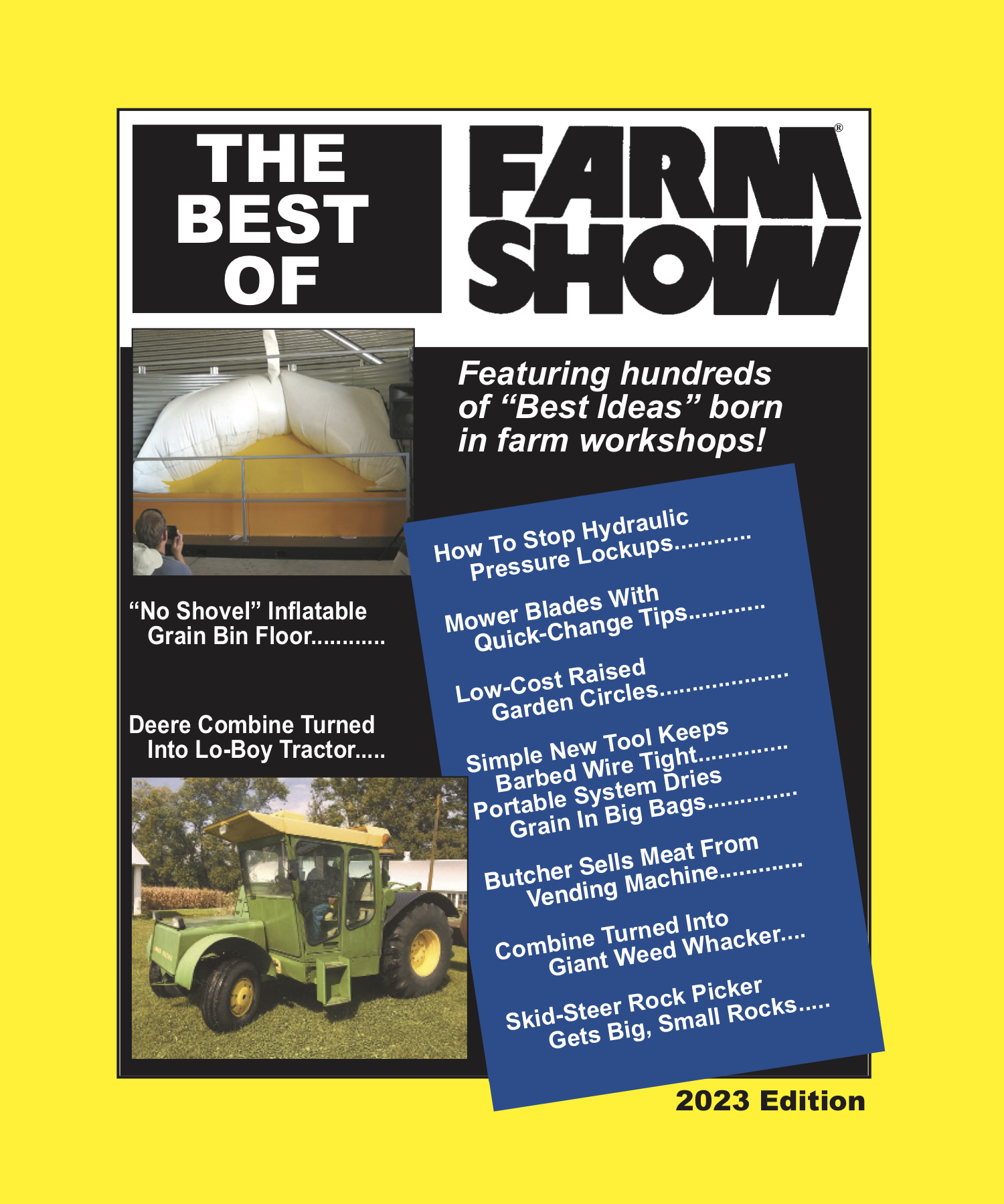 FARM SHOW Magazine Subscription Renewals Receive 2 FREE Books!