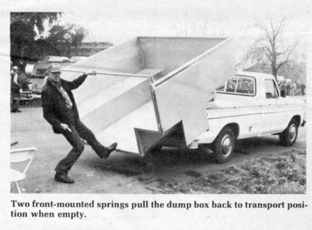 Lets you haul big loads without having to rebuild your pickup  says William Duncan inventor of a new high-sided sliding box for pickups that fastens ... & FARM SHOW - Pickup Dump Box Empties Itself Aboutintivar.Com