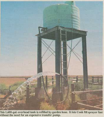 FARM SHOW - Water Tower -- Fast Way To Fill Sprayers