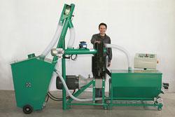 hops pelletizer machine
