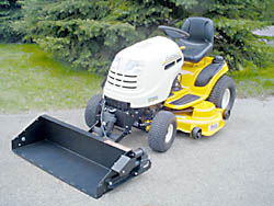 Garden Tractor Loaders @ Mowers Direct.com - Garden Tractor Front