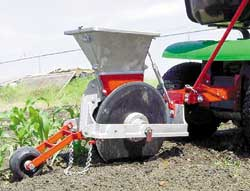 FARM SHOW One Row Precision Planter Great For Small Scale