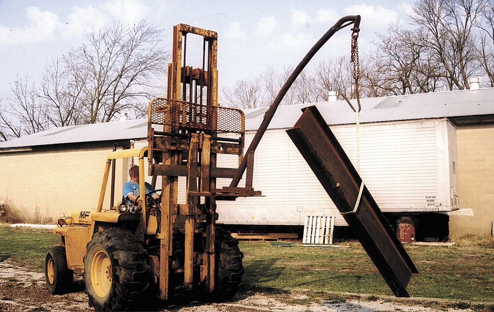 Homemade Forklift Boom : Farm show magazine latest farming agriculture news