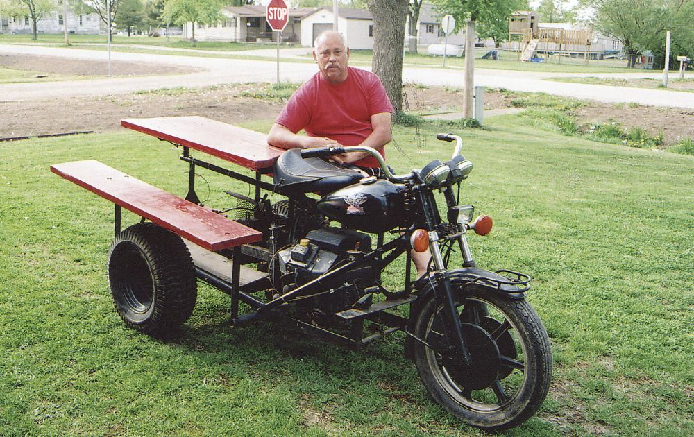FARM SHOW Magazine Latest Farming Agriculture News Farm Shop - Motorized picnic table for sale