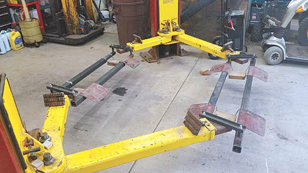 lift tractors handle lawn equipment farmshow tractor diy adapter farm lifts magazine farming issue stories hacks
