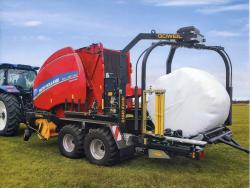 New Holland Bale Wrapper