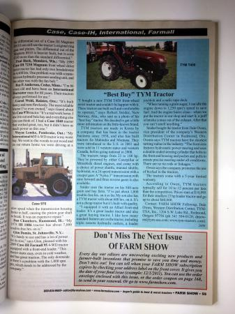 Buyers Guide To Best & Worst Tractors - Book