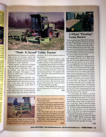 I Made My Own Tractor - Book