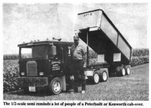 Half Scale Semi Truck