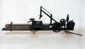 Farm show miniature working replica of 1936 stationary for Hay replica