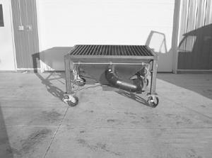 Farm Show Quot Downdraft Quot Cutting Table