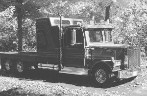Mini Semi Has A Sleeper Cab