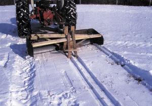 Traditional Cross Country Ski Groomer: 6 Steps (with Pictures)  Cross Country Ski Trail Grooming
