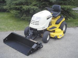 Self Powered Loaders For Garden Tractors Riding Mowers
