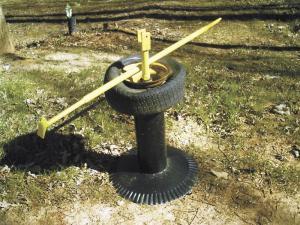 manual tyre changer alloy wheel bar