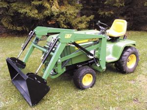 mini loaders for deere garden tractors - Garden Tractors For Sale