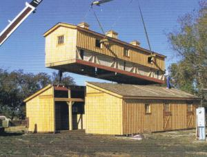 FARM SHOW Horse Barn Goes Up In A Day