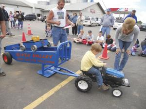Business Developed Around Pedal Tractor Pulls