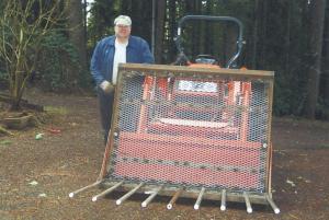 Farm Show Kubota Log Skidder Brush Rake