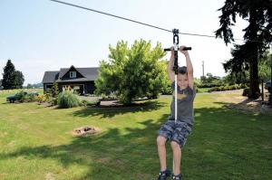 Zip Lines For Backyards farm show magazine - the best stories about made-it-myself shop