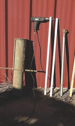 40 X White 3ft Poly Posts Electric Fencing Fence Stakes Double Step Pony Ebay