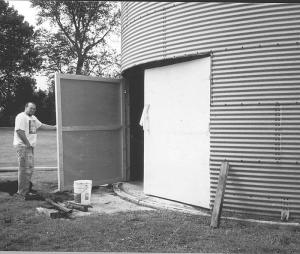 Farm Show Grain Bin Storage Shed
